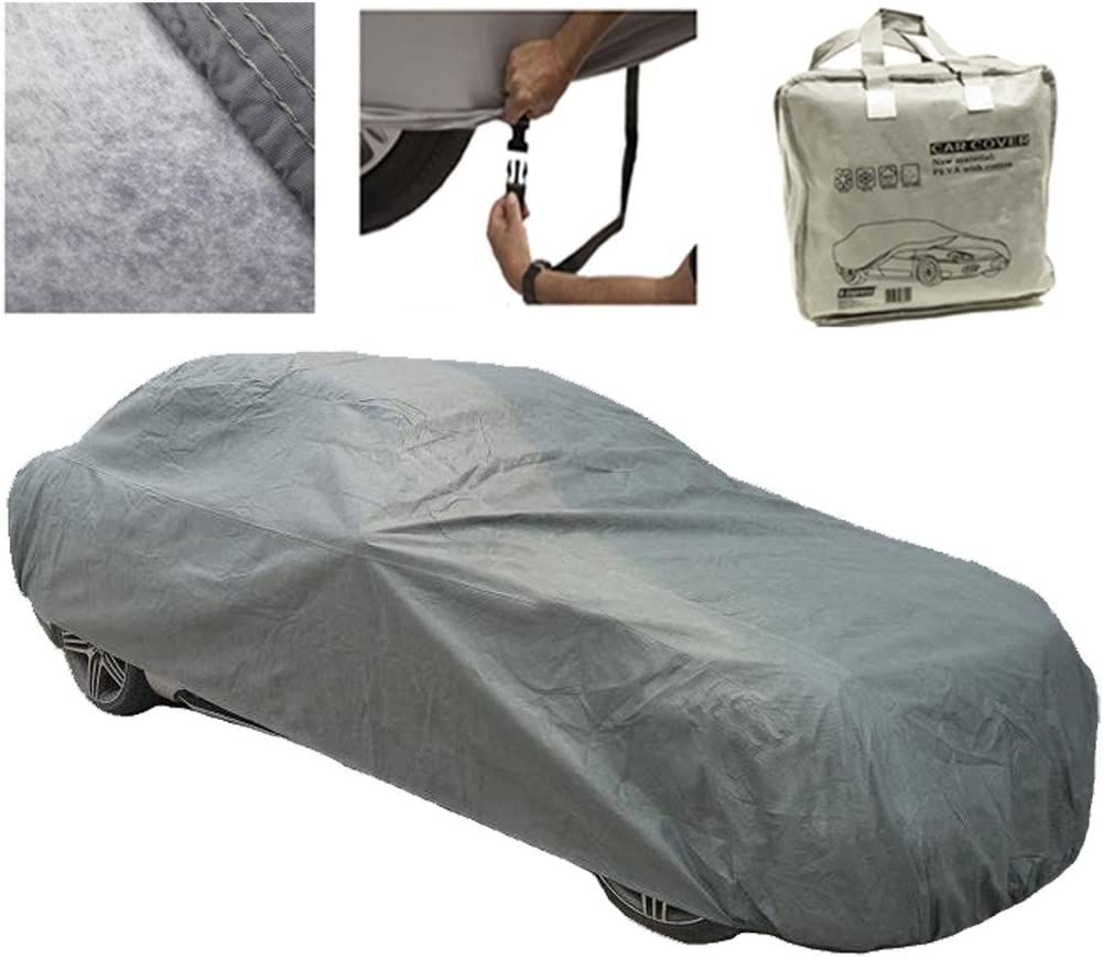 XXL CAR COVER CAR COVER 100/% WATERPROOF OUTDOOR BREATHABLE RAIN SNOW PROTECTION