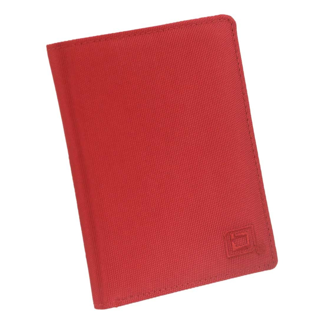 25a63c5a70ac RFID Wallet Nylon Passport Cover - Protective Travel Covers - RFID Blocking  Products for Men and Women (Red)