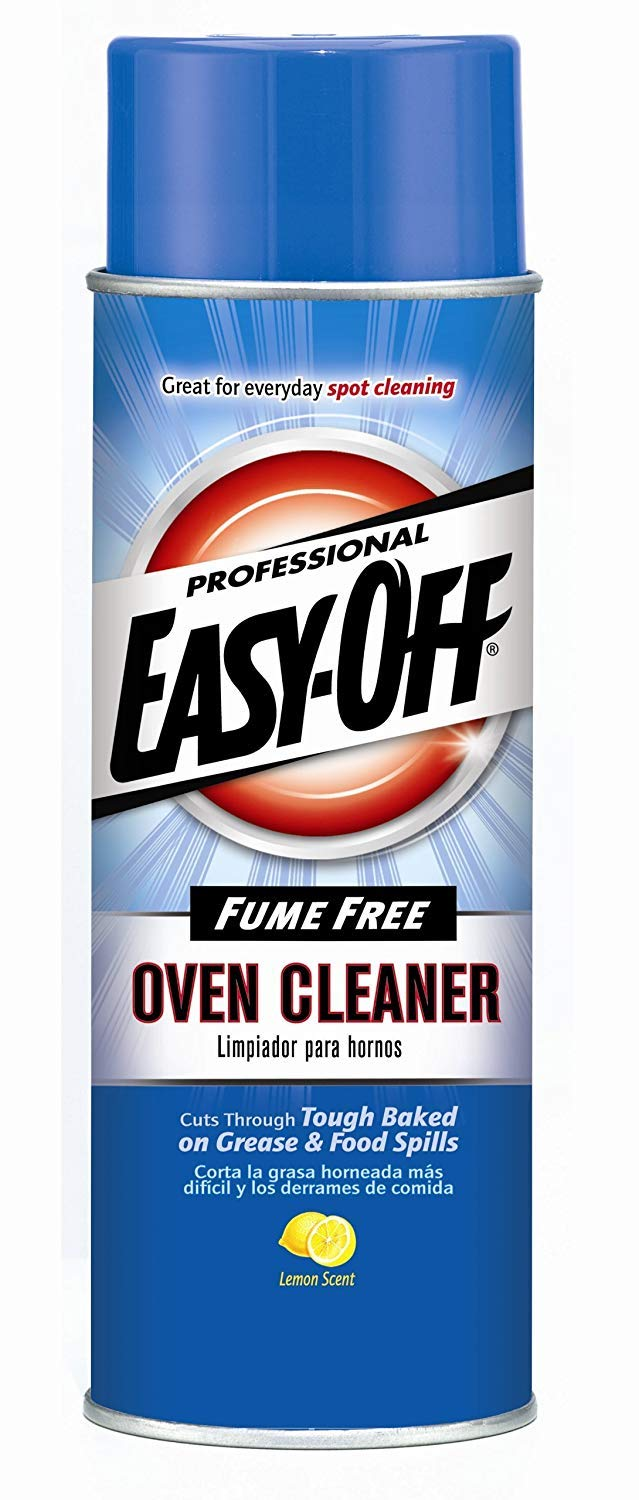 Easy Off Professional Fume Free Max Oven Cleaner, Lemon 24 oz Can (4 Pack(24 oz))