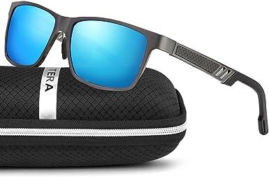 ELITERA de magnesio y aluminio polarizadas de los hombres gafas de ...