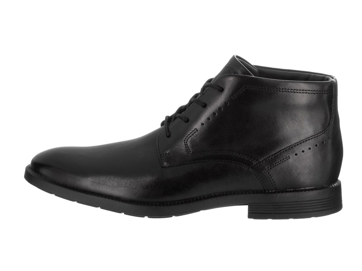 Rockport Men's Dressports Business Chukka Black Leather Boot 9 M (D) by Rockport (Image #2)