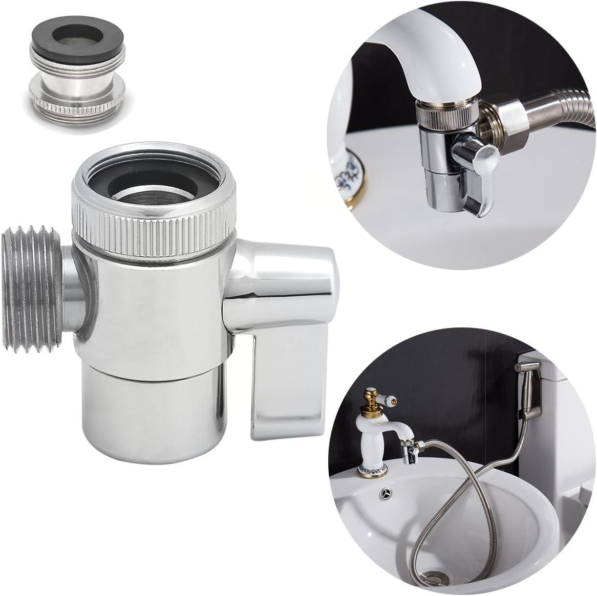 Ciencia SUS304 desviador de acero inoxidable para el grifo del fregadero de la cocina o grifo del fregadero del cuarto de baño Parte de repuesto del grifo SBA021