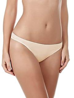 36e7ef1958bb Felina Women's Charming Lace Thong Panty at Amazon Women's Clothing ...