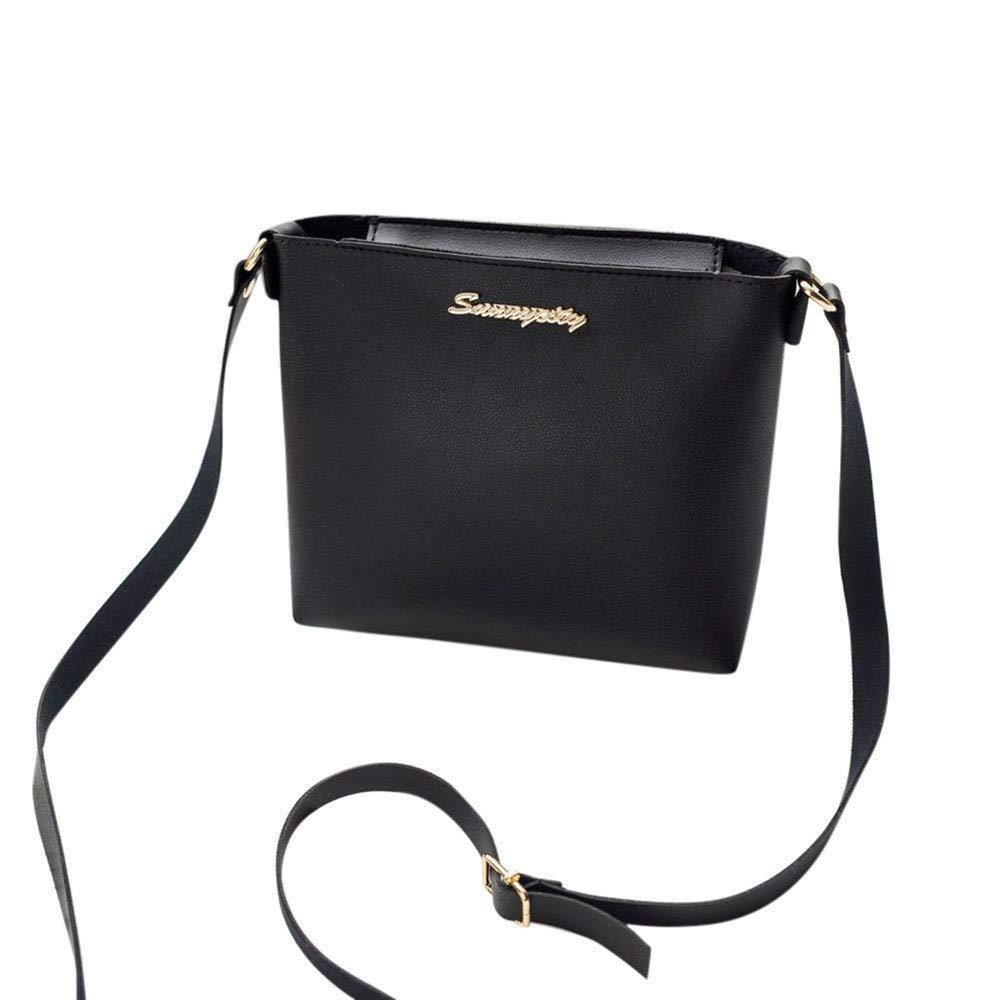 Amazon.com: 2018 Fashion for Women Solid Zipper Shoulder Bag ...