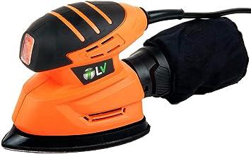 T-LoVendo VPFS Lijadora de Mano Mouse Delta Triangular Electrica 130W, Naranja, 10x20x13cm: Amazon.es: Bricolaje y herramientas