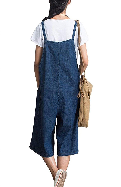 Pantalones Anchos para Mujer Pantalones Vaqueros Color ...