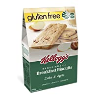 Kellog's Breakfast Biscuit Apple Date Gluten Free, 200 Grams