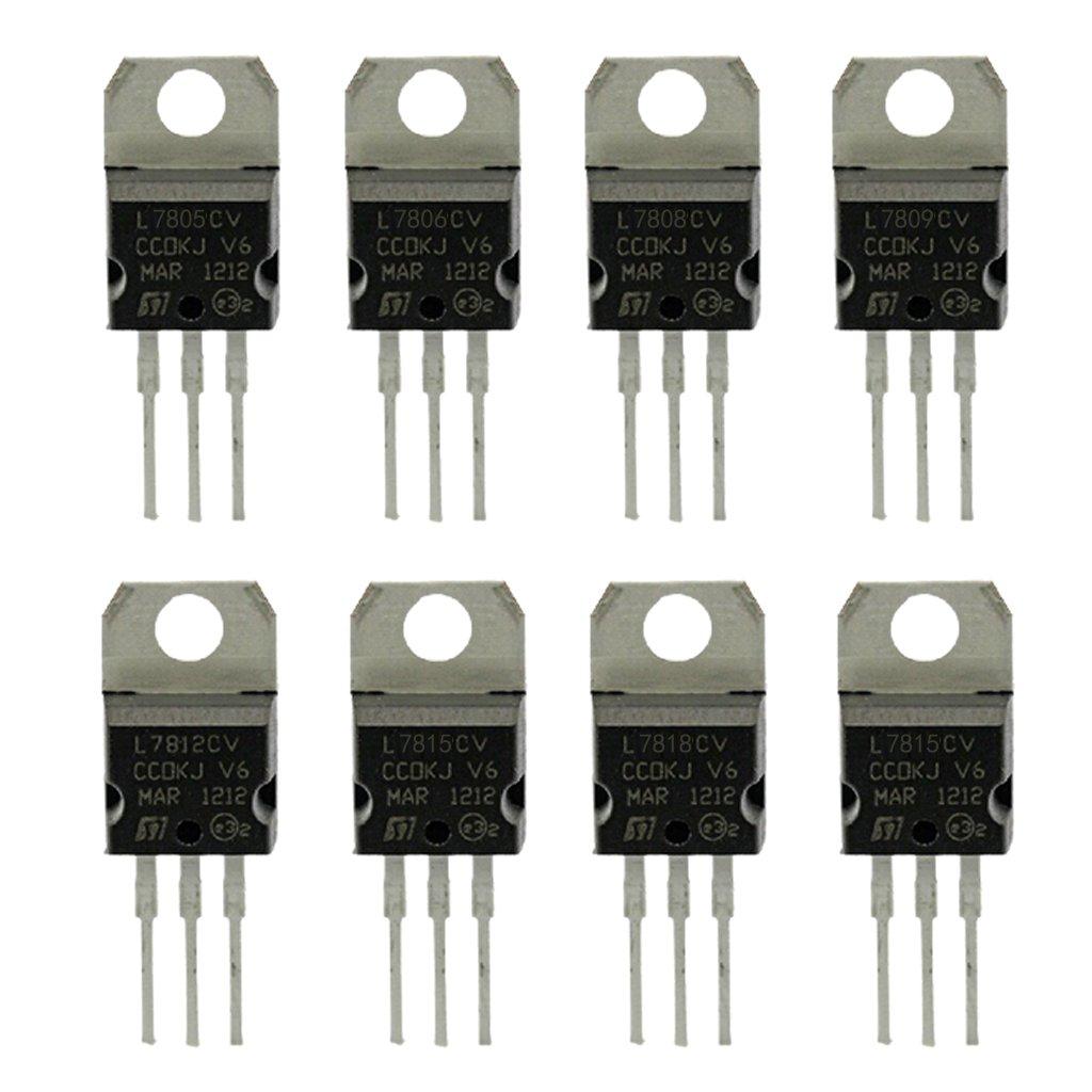 Gazechimp 8 piezas de Transistores Conjunto de Herramientas Hogar Jardí n Necesidades Bá sica
