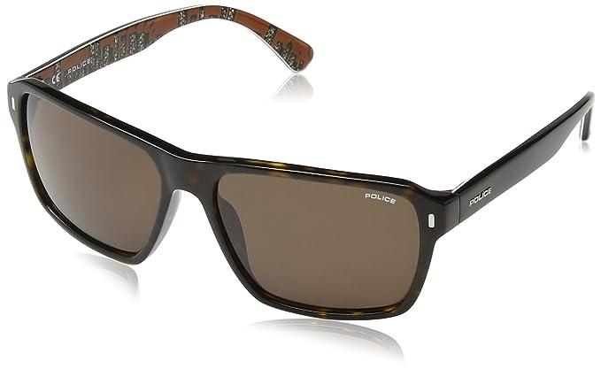 Amazon.com: Police anteojos de sol acetato S1862 Skyline 3 ...