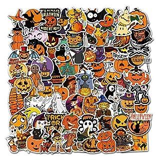 Cool Halloween Sticker 100pcs Waterproof Vinyl Skateboard Guitar Travel Case Sticker Door Laptop Luggage Car Bike Bicycle Stickers