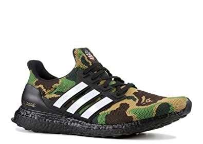 official photos bd3b7 94016 Amazon.com | adidas Bape X Ultraboost 'Green Camo' - F35097 ...