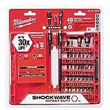 Milwaukee 48-32-4008 Shockwave Impact Duty Driver Bit Set (40-Piece)