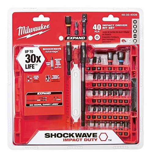 Milwaukee 48-32-4008 Shockwave Impact Duty Driver Bit Set (40-Piece)