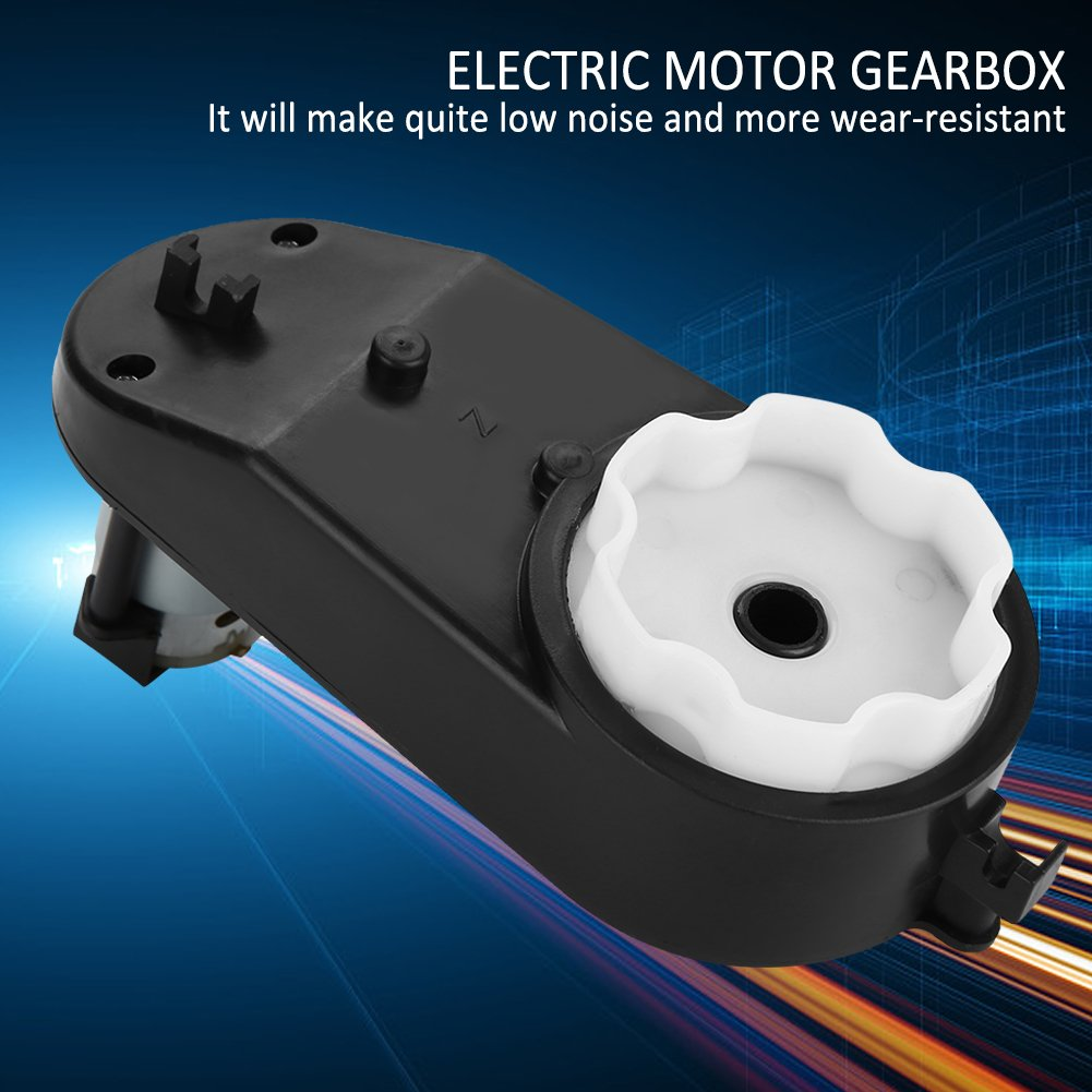 6v-18000RPM RS390 12000-20000RPM Electric Motor Gearbox Drive Engine Ride for Kids Power Wheels 6V//12V Gearbox for Kids Ride on Car Parts