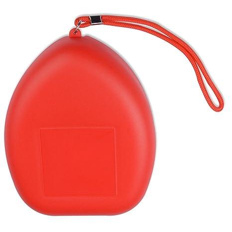 YooGer Máscara de CPR de Bolsillo, mascarilla de reanudación ...