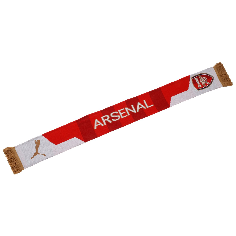 PUMA 2015-2016 Arsenal Fan Scarf (Red) 052828