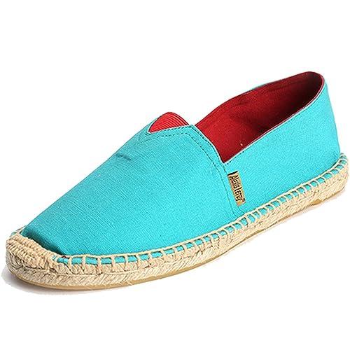 Alexis Leroy Alpargatas casual Stripes para hombre Azul 41 EU / 7 UK: Amazon.es: Zapatos y complementos