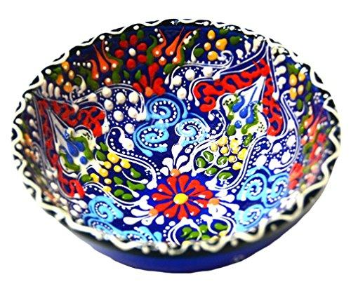 Turkish Ceramics~Hand Painted Ceramic Bowl-5 -