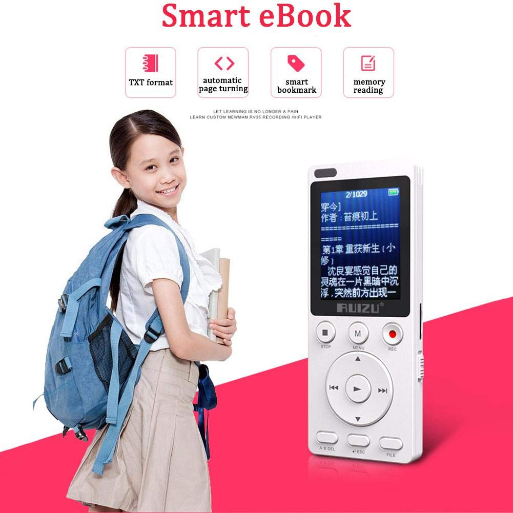 Gereton MP4 English Listening Player 8GB Built-in High Capacity Learning Machine Student Recorder Repeatable Shift Multifunction MP3 by Gereton (Image #6)