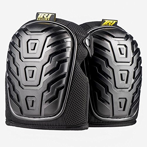 Best Professional Knee Pads For Work, Heavy Duty and Foam Padded, Comfort Gel Cushioned Kneepads for Gardening, Carpenter, Flooring, Cleaning, Mechanics, Hvac, Plumbing and More