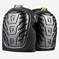 Best Professional Knee Pads For Work, Heavy Duty and Foam Padded, Comfort Gel Cushioned Kneepads...