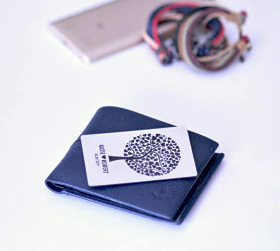 Amazon Com Wallet Card Gift For Him Wedding Gift For Him