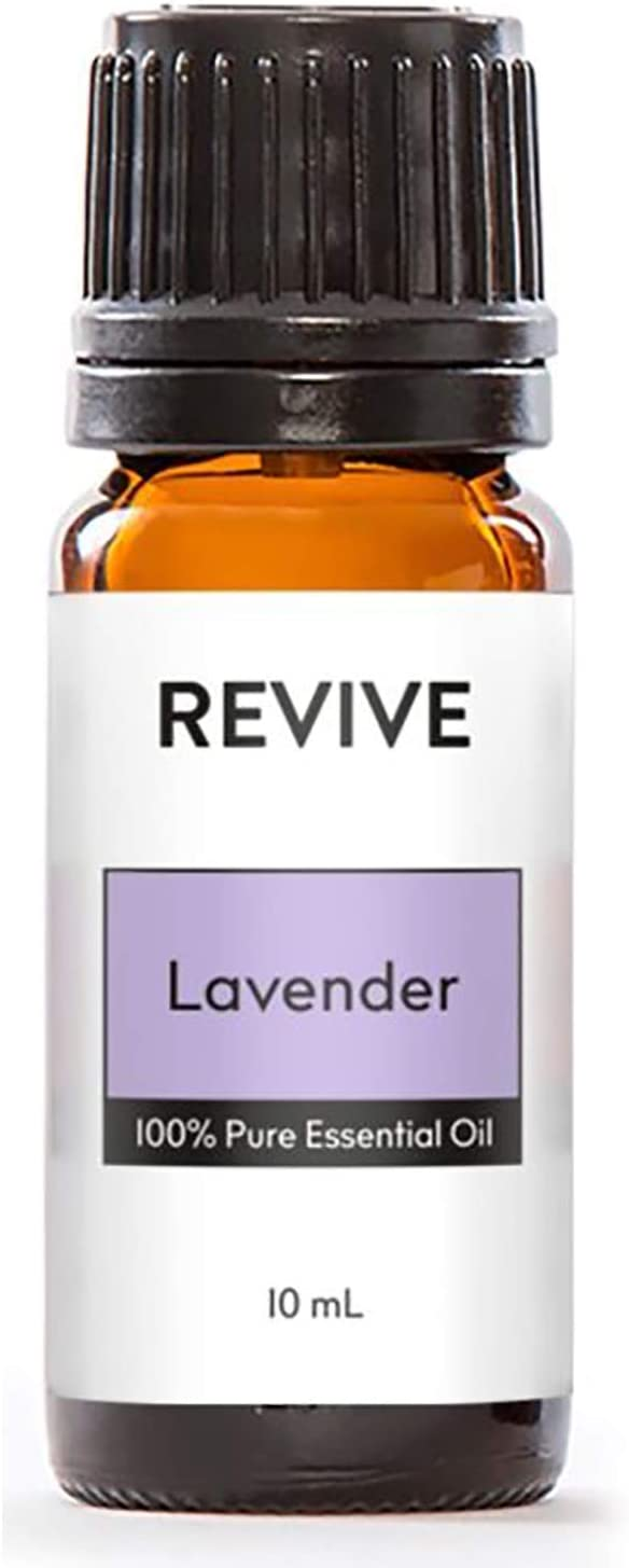 Revive Essential Oils Lavender 10 ml - 100% Pure Therapeutic Grade, for Diffuser, Humidifier, Massage, Aromatherapy, Skin & Hair Care - Cruelty Free -Unrefined Oils with No Fillers