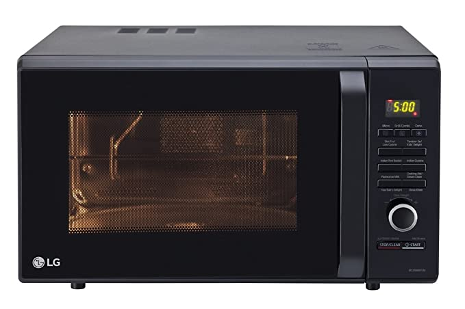 LG 28 L Convection Microwave Oven (MC2886BFUM, Black)