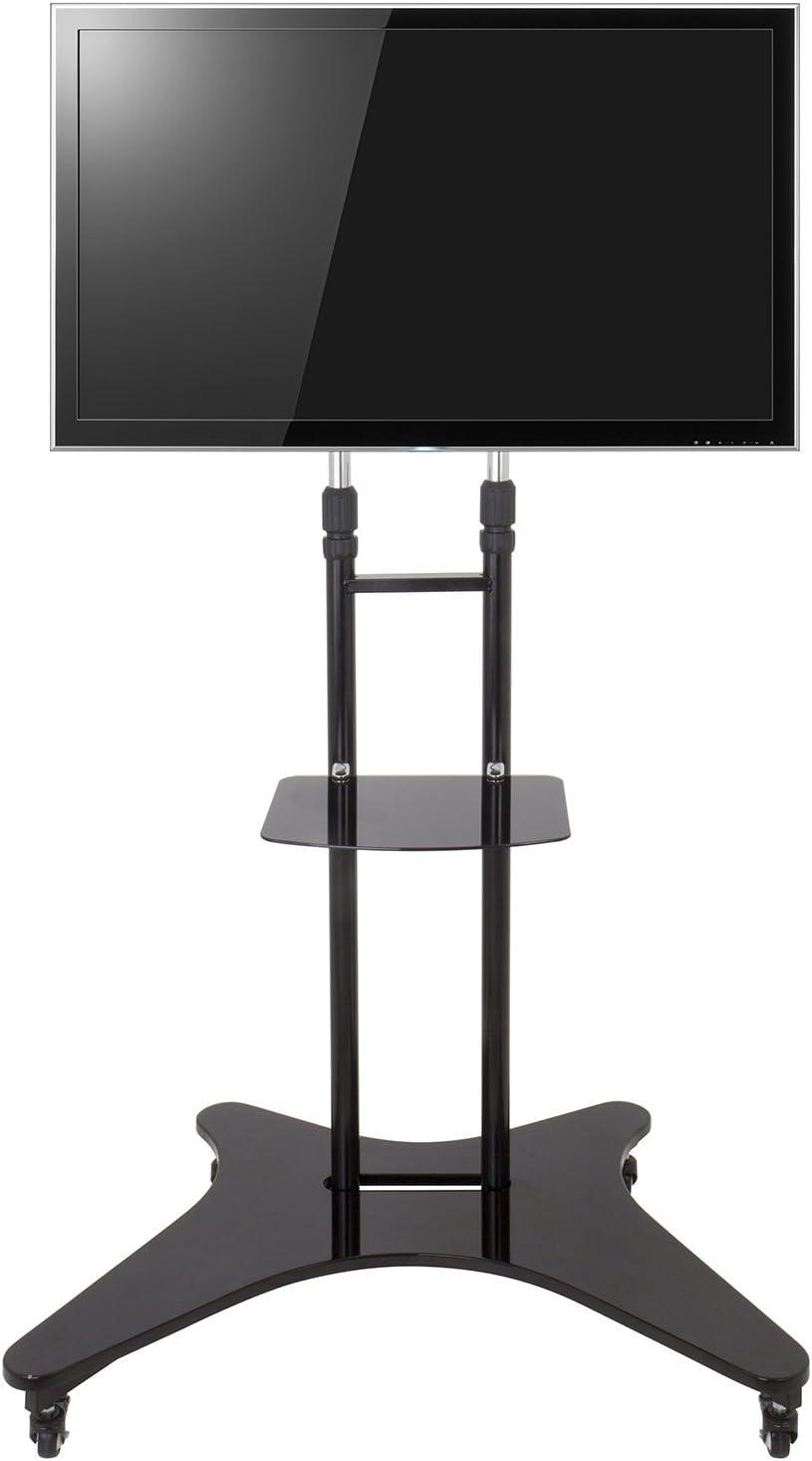 King Universal Mobile TV Carrito con Ruedas Altura Ajustable a 188 cm de 32