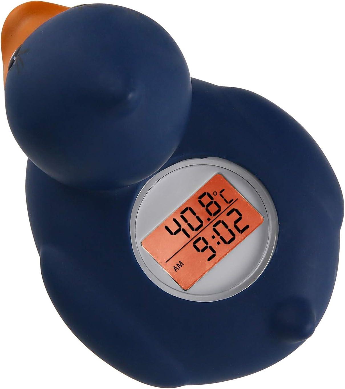 LYX Pato Lindo term/ómetro la Temperatura del Agua Tester ba/ño del beb/é Flotante Pato de Juguete de hidromasaje term/ómetro Juguete del ba/ño del beb/é term/ómetro Size : Blue