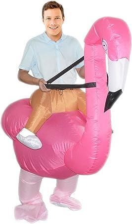 Parti ANIMAUX FANCY DRESS Taille unique Flamingo Costume