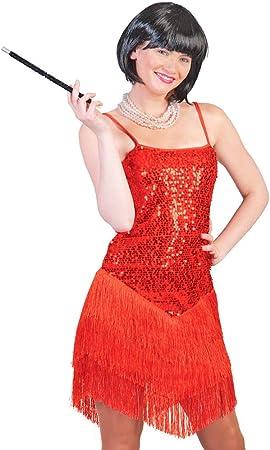 Charleston vestido Marlene para mujer – 20 Años Disfraz: Amazon.es ...