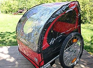 Kranich et Red Loon convenable pour toutes les Remorques de Blue Bird Housse anti-pluie pour Remorque V/élo Enfant