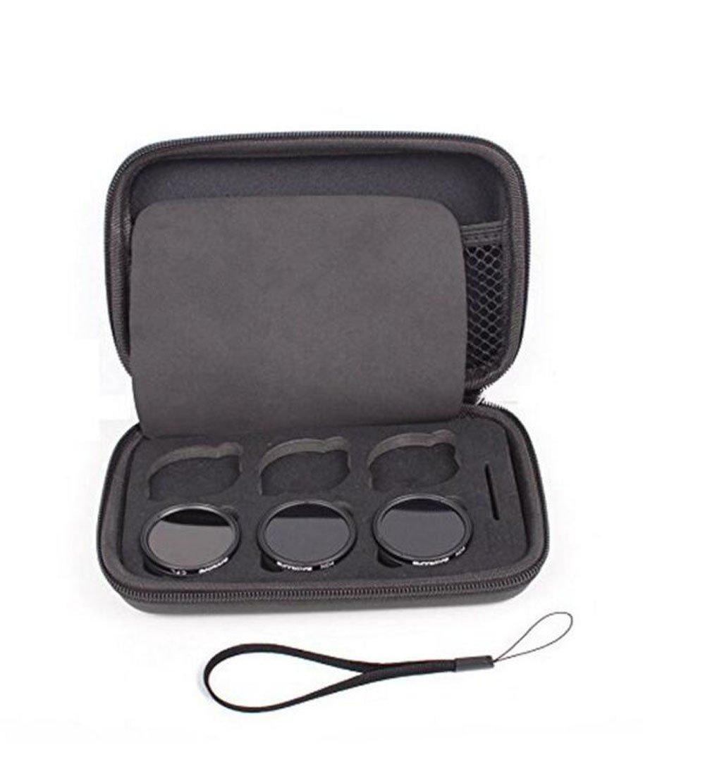 Kingwon 6 carta elicottero obiettivo della fotocamera filtro portafoglio tasche borsa case per DJI Osmo Inspire X3 camera Lens Filter Kingwon Tech