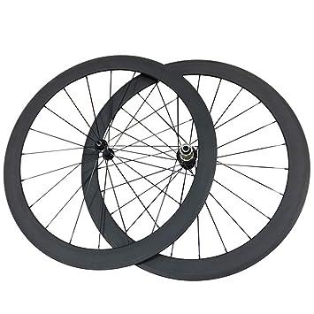 ESTTON - Ruedas de Bicicleta ultraligeras y Mate de 50 mm de Ancho, 23 mm