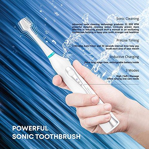 AquaSonic Home Dental Center Ultra Sonic Rechargeable