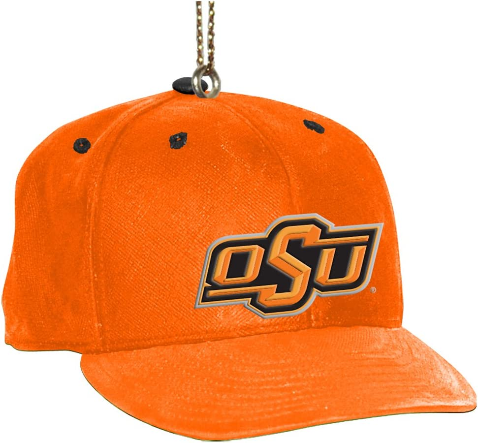 NCAA Oklahoma State Cowboys Baseball Cap Ornament