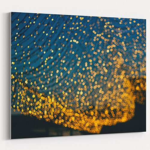 Westlake - Canvas Print Wall - Light Yellow - Canvas Stretched Gallery Wrap - Modern Picture Photography Artwork - Ready to Hang - 16x20in (37x ca9) (Corrugated Stock Displays)