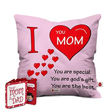 image regarding I Mom named Acquire Indigifts Hearts of Take pleasure in for Mother Released Cushion Address