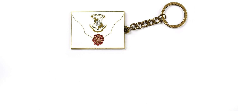 Harry Potter Brief Llavero Colgante Dorado