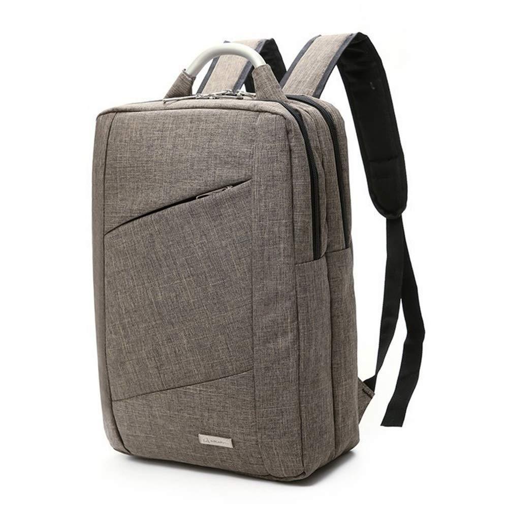 Dfghbn Doppelte Umhängetasche Umhängetasche Umhängetasche Mens-Weinlese-Leinwand-Rucksack-Schul-Laptop-Tasche, die Reiserucksack braun wandert Gehen Sie zu Fuß (Farbe   Blau) B07PGSDQC1 Daypacks Bestätigungsfeedback e81f9d