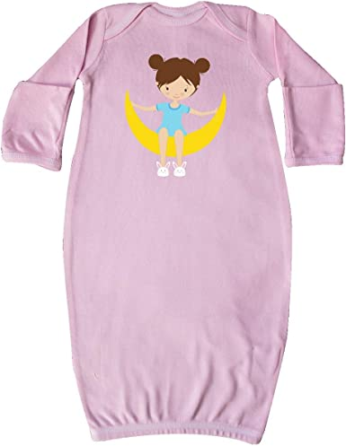 Girl Holding a Star inktastic Girl in Pajamas Cute Toddler Long Sleeve T-Shirt