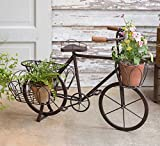 Rustic Country Theme Home Decor Bicycle Flower Pot Planter Garden Yard Decoration