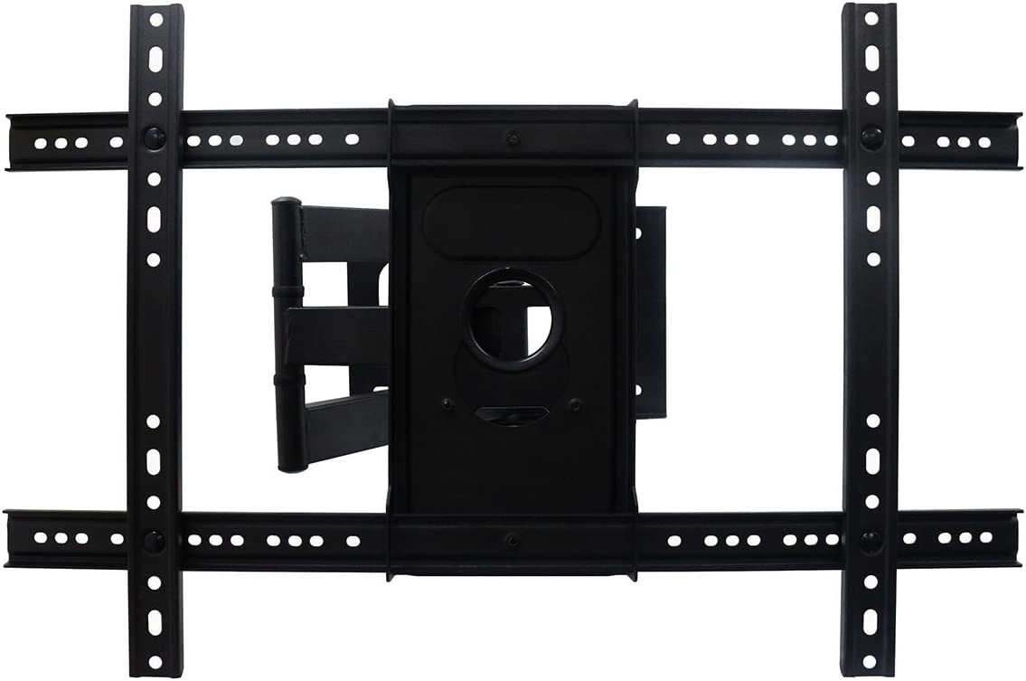 AuraBeam TV Wall Mount Bracket for Most 37 – 70 TVs LED LCD Flat Screen Monitor Up to 99 lbs. VESA 600400mm 20 Tilt 75-460mm Distance to Wall