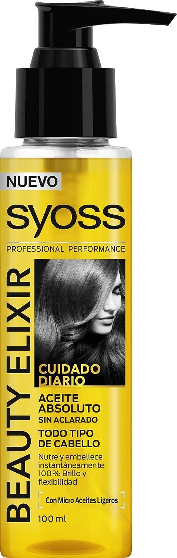 SYOSS Aceite capilar Beauty Elixir - Nutrición y Flexibilidad - 2 uds de 100 ml