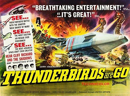 (Posterazzi Thunderbirds are Go Art 1966 Movie Masterprint Poster Print (14 x 11))