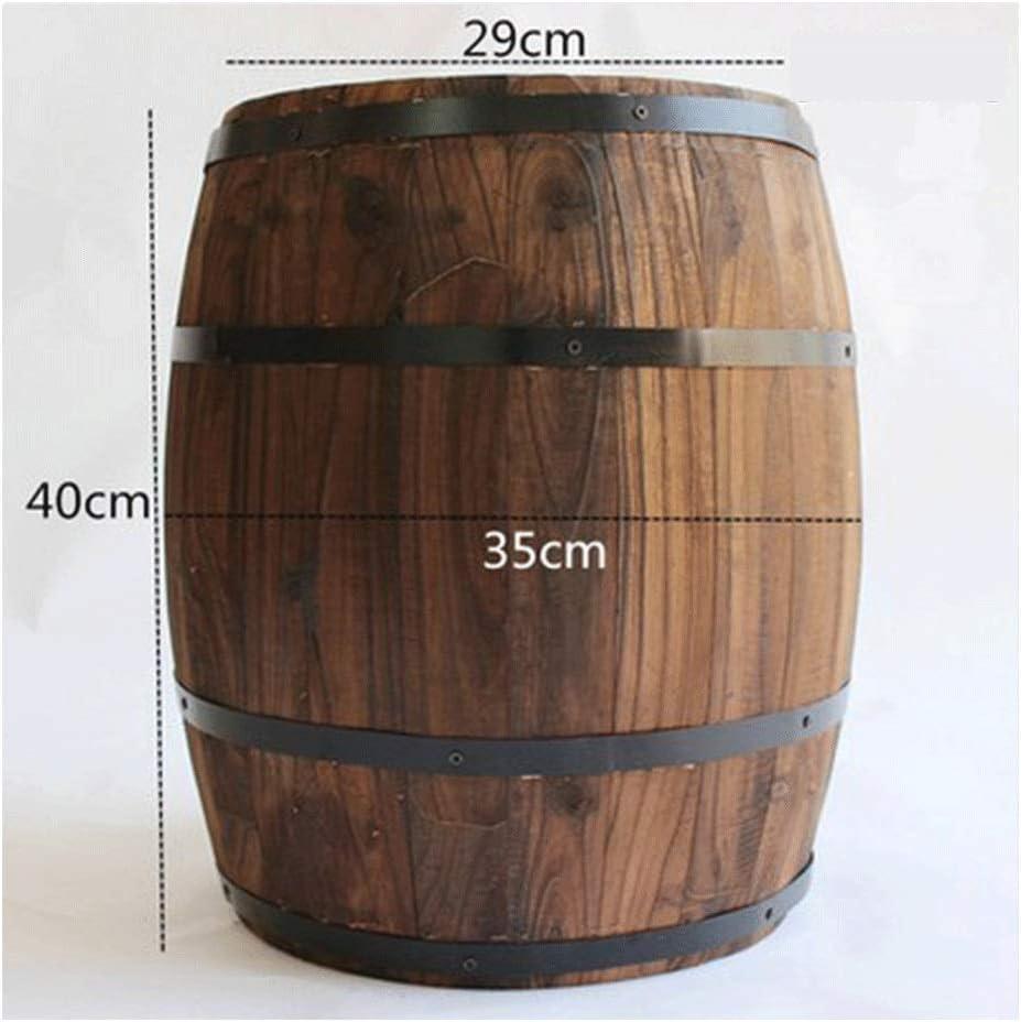 FEIFEI Barricas de roble, resina y grifos metálicos almacenan vino y licores.Variedad de capacidades, barriles de vino de roble, cerveza, barriles de vino, bares, adornos de barril de madera maciza, a