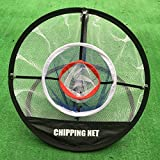 POSMA US CN010 Portable Golf Training Chipping Net Hitting Aid Practice in/Outdoor Bag Hitting Nets Pefect for Golf Training