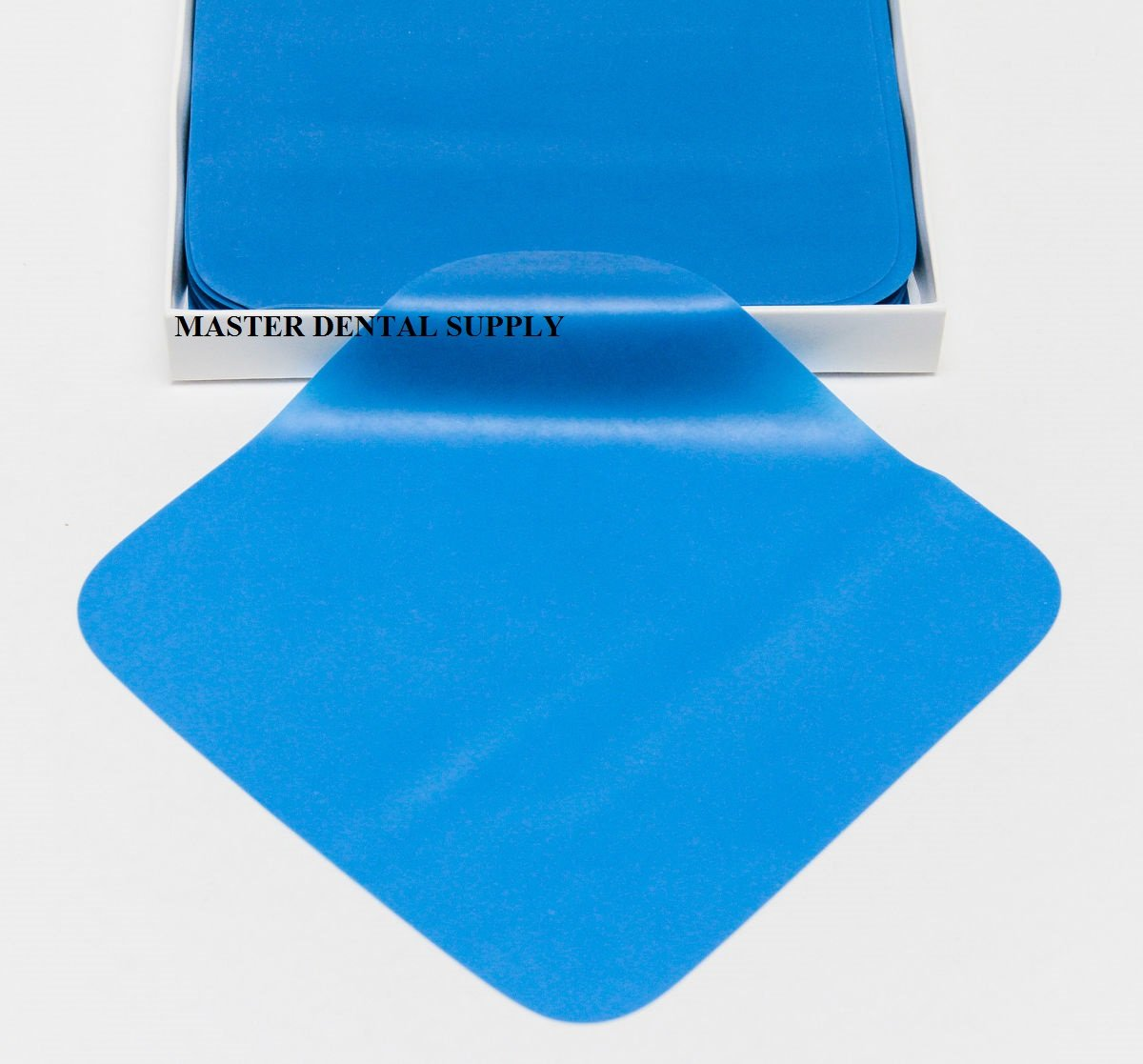 Dental Rubber Dam 6X6 MINT Flavor BLUE Color MEDIUM 36 Sheets Ships from USA