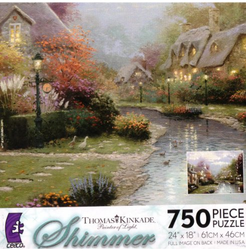 Lamplight Brooke - 750 Piece Jigsaw Puzzle